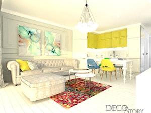 Kolorowo nietypowo - Kuchnia, styl eklektyczny - zdjęcie od decostory