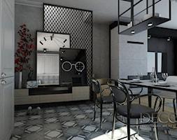 Kuchnia Skandynawski Loft Projekt Wnetrza Mieszkalnego Decostory