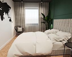 Sypialnia w stylu industrialno-klasycznym - zdjęcie od ZRÓB SOBIE RAJ - Homebook