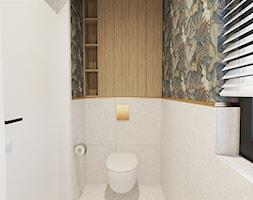 Toaleta w domu jednorodzinnym - zdjęcie od ZRÓB SOBIE RAJ - Homebook