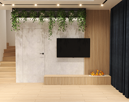 Salon - ścianka TV - zdjęcie od ZRÓB SOBIE RAJ - Homebook