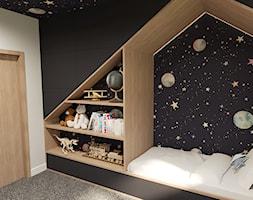 Kosmiczny pokój chłopca - zdjęcie od ZRÓB SOBIE RAJ - Homebook