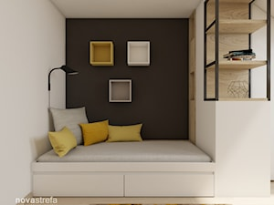 łóżko w pokoju nastolatka - zdjęcie od Novastrefa - Architektura Wnętrz