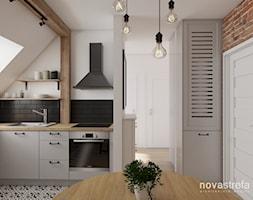 Kuchnia+z+jadalni%C4%85+-+zdj%C4%99cie+od+Novastrefa+-+Architektura+Wn%C4%99trz