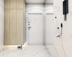 The beginning - Duży biały hol / przedpokój, styl nowoczesny - zdjęcie od EDYCJA studio - Homebook