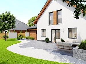 Jak zagospodarować teren wokół domu? Wybieramy materiał na taras, podjazd, ścieżki i ogrodzenie!