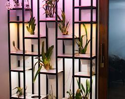 Półka - storczykarnia - zdjęcie od Meble stalowe. Styl industrialny. Loft.