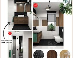 %C5%81azienka+black+%26+white+-+zdj%C4%99cie+od+Alina+Badora+Pracownia+Architektury+Wn%C4%99trz