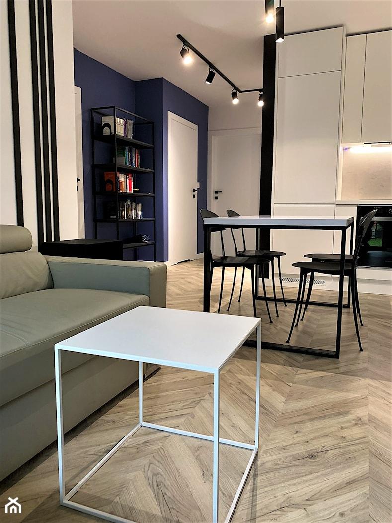 Domowe designerskie laboratorium. Realizacja projektu na wrocławskim Gaju - Jadalnia, styl nowoczesny - zdjęcie od DekoDeko - Homebook