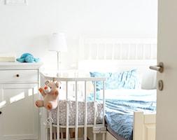 Kącik dla niemowlaka w sypialni rodziców - zdjęcie od Polenka - Homebook