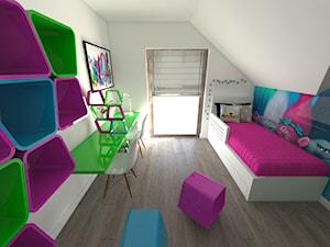 Pokój dziecięcy inspirowany bajką Trolle - zdjęcie od kula61