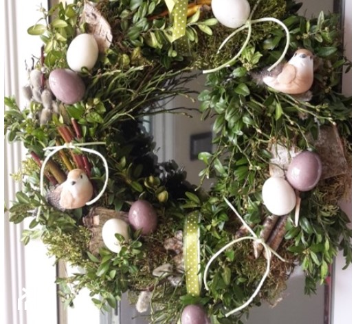 Wianki Wielkanocne Z Brzozy Pomysły Inspiracje Z Homebook