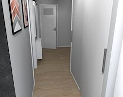 Mieszkanie (Kraków) - Średni szary hol / przedpokój, styl klasyczny - zdjęcie od Agnieszka Buchta-Swoboda Design - Homebook