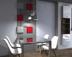Energetyzujące wnętrza dla młodej pary - zdjęcie od Agnieszka Buchta-Swoboda Design - Homebook