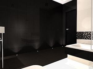 Męska łazienka - Duża łazienka w bloku w domu jednorodzinnym bez okna - zdjęcie od Archi-Ann