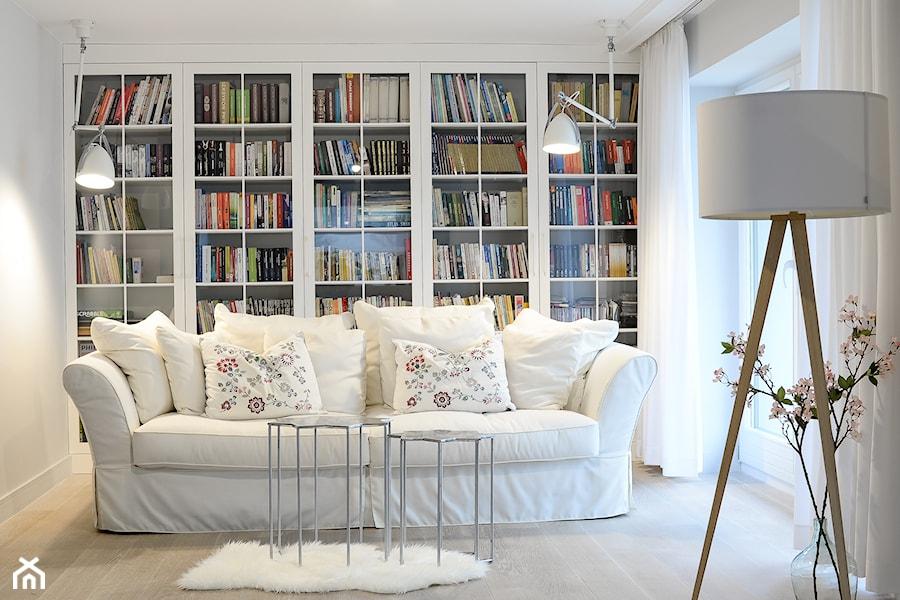Biblioteka Domowa Zdjęcie Od Projektowanie Wnętrz Olga