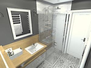 metamorfoza łazienki - zdjęcie od Projektowanie wnętrz Olga Januszkiewicz