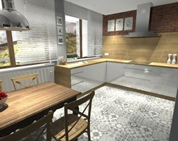 metamorfoza kuchni - zdjęcie od Projektowanie wnętrz Olga Januszkiewicz