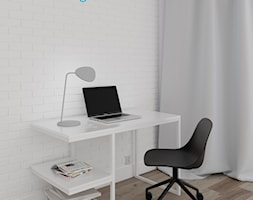Nowoczesne biurko E - zdjęcie od nkdesign