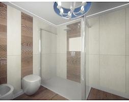 Sypialnia marzeń - Mała biała łazienka w bloku w domu jednorodzinnym bez okna, styl eklektyczny - zdjęcie od DemoDesign Jacek Staniszewski Studio projektowania wnętrz - Homebook