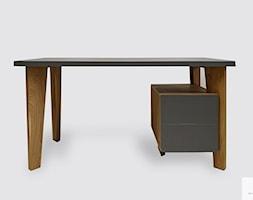 Designerskie+biurko+drewniane+z+kontenerkiem+GRAND+-+zdj%C4%99cie+od+RaWood+Premium+Furniture