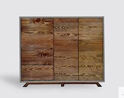 Nowoczesna+drewniana+komoda+fronty+ze+starego+drewna+litego+BERGEN+-+zdj%C4%99cie+od+RaWood+Premium+Furniture