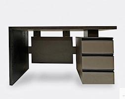 Eleganckie+biurko+z+drewna+d%C4%99bowego+z+szufladami+BOSS+-+zdj%C4%99cie+od+RaWood+Premium+Furniture