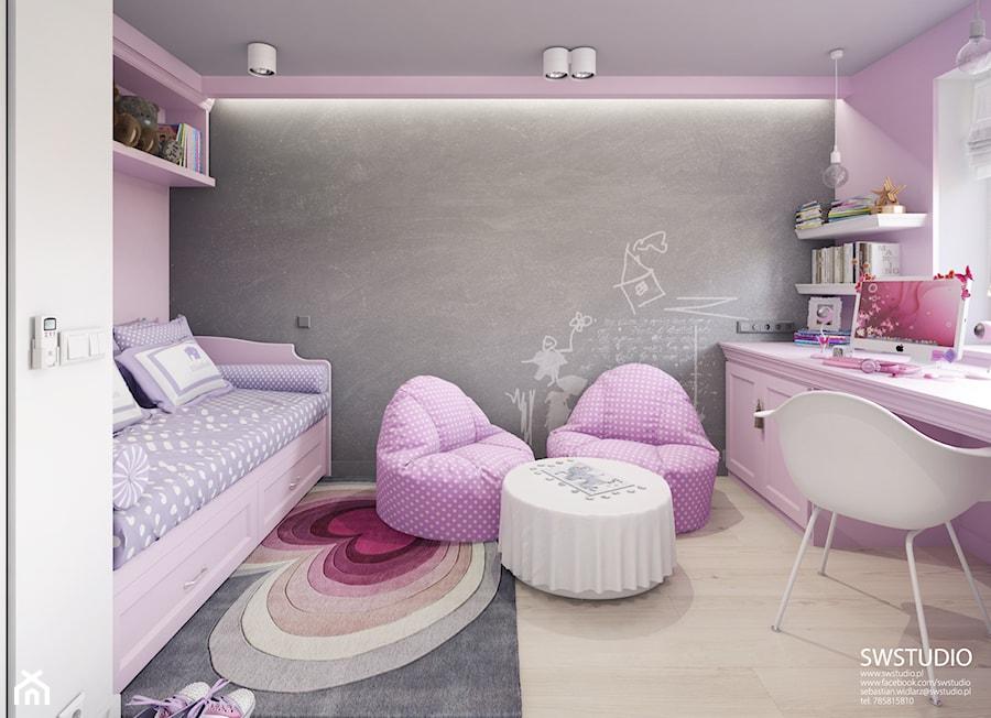 Aranżacje wnętrz - Pokój dziecka: Pokój P3 - SWSTUDIO. Przeglądaj, dodawaj i zapisuj najlepsze zdjęcia, pomysły i inspiracje designerskie. W bazie mamy już prawie milion fotografii!