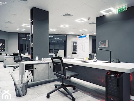 Aranżacje wnętrz - Biuro: B3 - SWSTUDIO. Przeglądaj, dodawaj i zapisuj najlepsze zdjęcia, pomysły i inspiracje designerskie. W bazie mamy już prawie milion fotografii!
