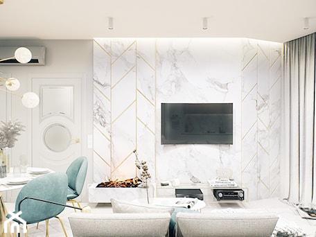 Aranżacje wnętrz - Salon: G5 - SWSTUDIO. Przeglądaj, dodawaj i zapisuj najlepsze zdjęcia, pomysły i inspiracje designerskie. W bazie mamy już prawie milion fotografii!