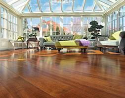Podłoga drewniana Iroko - zdjęcie od Bosco studio