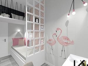 Pomysłowy pokój dla dziewczynki - zdjęcie od Architektura Wnętrz Katarzyna Chrzuszcz