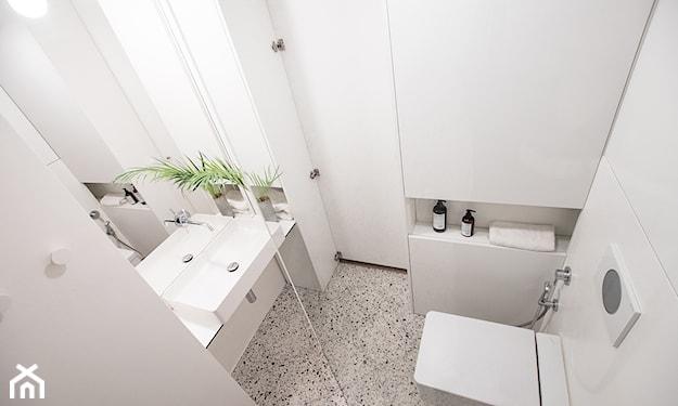 terrazzo w łazience