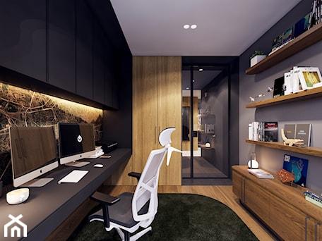 Aranżacje wnętrz - Biuro: The 家 - Zarysy. Przeglądaj, dodawaj i zapisuj najlepsze zdjęcia, pomysły i inspiracje designerskie. W bazie mamy już prawie milion fotografii!