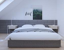lazienka na poddaszu - zdjęcie od SARNA ARCHITEKCI / Architektura Wnętrza dla wymagających / Interior Design - Homebook