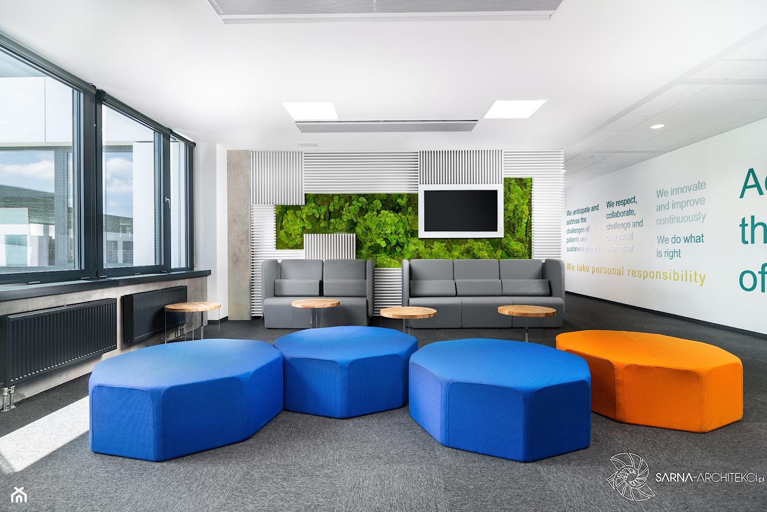 Hol w biurze - zdjęcie od SARNA ARCHITEKCI / Architektura Wnętrza dla wymagających / Interior Design - Homebook