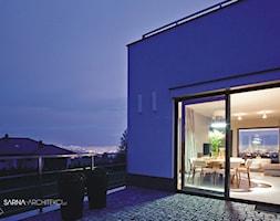 salon, jadalnia z widokiem - zdjęcie od SARNA ARCHITEKCI / Architektura Wnętrza dla wymagających / Interior Design - Homebook