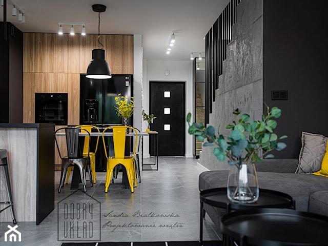Dom inspirowany stylem LOFT-realizacja