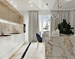 Mieszkanie w stylu nowoczesny glamour - Kuchnia - zdjęcie od DOBRY UKŁAD-Sandra Białkowska - Homebook