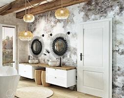 Dom w stylu boho&glam - Łazienka - zdjęcie od DOBRY UKŁAD-Sandra Białkowska - Homebook