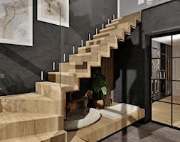 Dom w stylu boho&glam - Schody - zdjęcie od DOBRY UKŁAD-Sandra Białkowska - Homebook