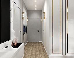 Mieszkanie w stylu nowoczesny glamour - Hol / przedpokój - zdjęcie od DOBRY UKŁAD-Sandra Białkowska - Homebook