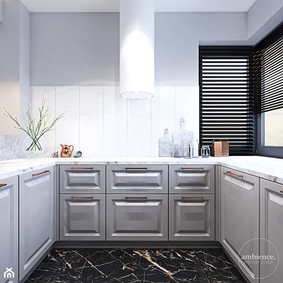 Dom inspirowany klasyką - Kuchnia, styl art deco - zdjęcie od Ambience. Interior design