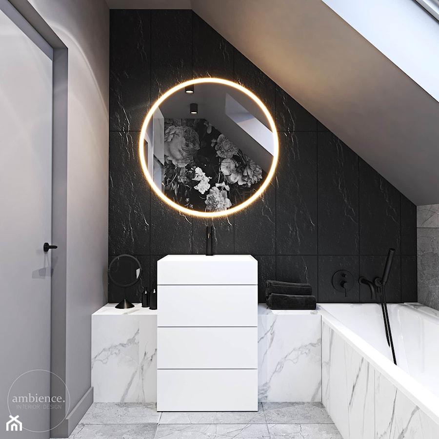 Dom inspirowany klasyką - Łazienka, styl nowoczesny - zdjęcie od Ambience. Interior design