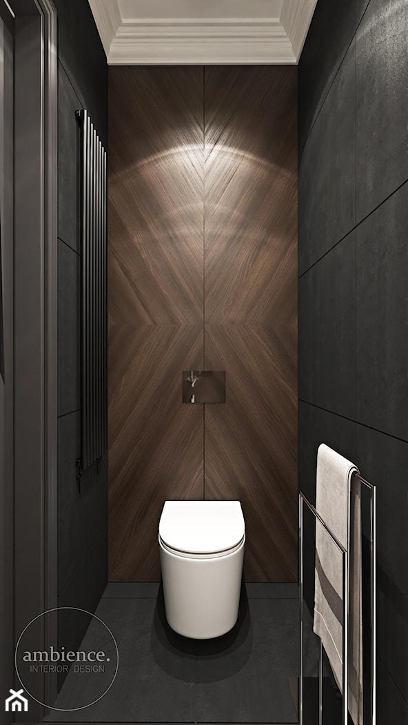 Warszawski apartament - Łazienka, styl nowoczesny - zdjęcie od Ambience. Interior design - Homebook