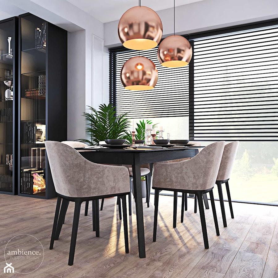 Dom inspirowany klasyką - Jadalnia, styl nowoczesny - zdjęcie od Ambience. Interior design