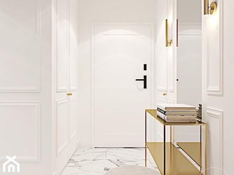 Aranżacje wnętrz - Hol / Przedpokój: Z nutą stylu amerykańskiego - Hol / przedpokój, styl art deco - Ambience. Interior design. Przeglądaj, dodawaj i zapisuj najlepsze zdjęcia, pomysły i inspiracje designerskie. W bazie mamy już prawie milion fotografii!