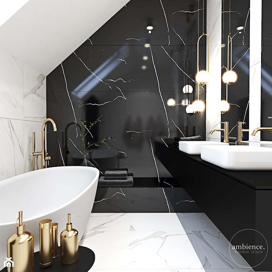 Elegancki dom z charakterem - Łazienka, styl nowoczesny - zdjęcie od Ambience. Interior design