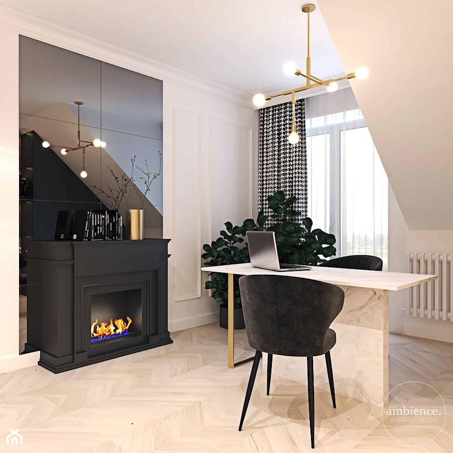 Nowy dom Koniecznych - Biuro - zdjęcie od Ambience. Interior design