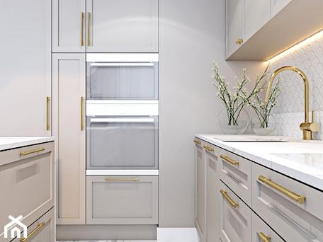 Aranżacje wnętrz - Kuchnia: Z nutą stylu amerykańskiego - Kuchnia, styl art deco - Ambience. Interior design. Przeglądaj, dodawaj i zapisuj najlepsze zdjęcia, pomysły i inspiracje designerskie. W bazie mamy już prawie milion fotografii!
